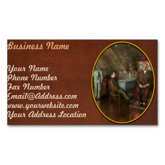 Doctor - Old fashioned influence - 1905-45 Magnetic Business Cards