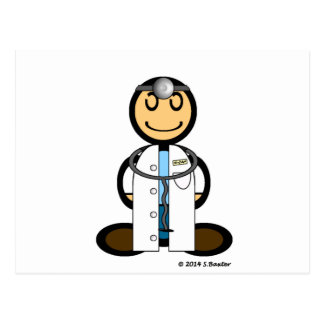 Doctor (plain) post card