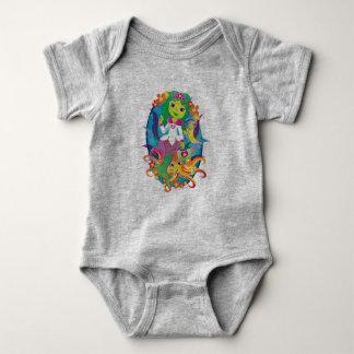 Doctor - Princess - Mermaid in Glasses :) Baby Bodysuit
