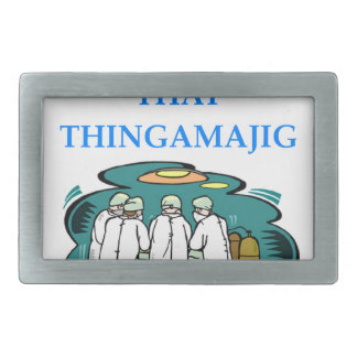 doctor rectangular belt buckles