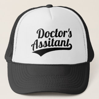 Doctor's assistant trucker hat