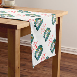 doctor short table runner