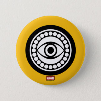 Doctor Strange Retro Icon 6 Cm Round Badge