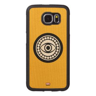 Doctor Strange Retro Icon Wood Phone Case