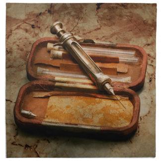 Doctor - The Hypodermic Syringe Cloth Napkin
