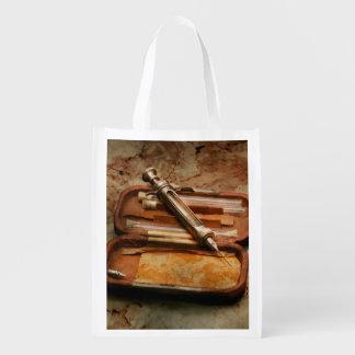 Doctor - The Hypodermic Syringe Reusable Grocery Bag