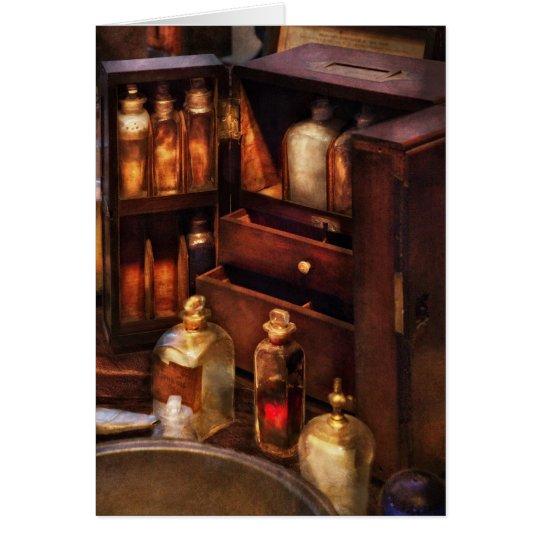 Doctor - The medicine cabinet Card