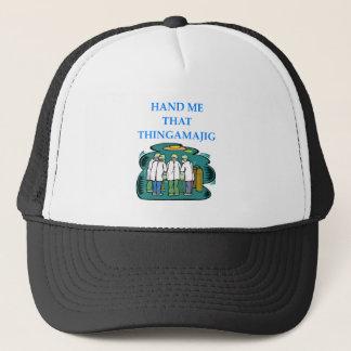 doctor trucker hat