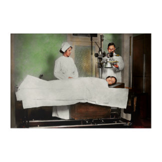 Doctor - Xray - Getting my head examined 1920 Acrylic Wall Art
