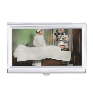 Doctor - Xray - Getting my head examined 1920 Business Card Holder
