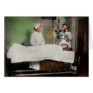 Doctor - Xray - Getting my head examined 1920 Card