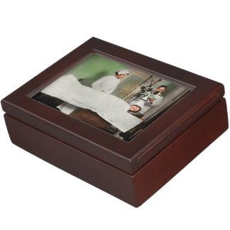 Doctor - Xray - Getting my head examined 1920 Keepsake Box
