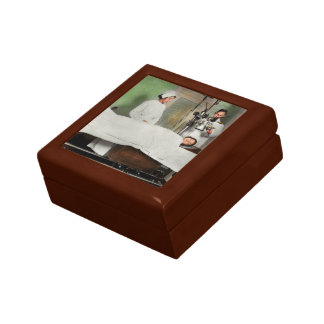 Doctor - Xray - Getting my head examined 1920 Small Square Gift Box
