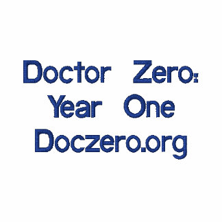 Doctor Zero: Year One Embroidered Polo Shirt