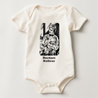 Doctors Deliver Baby Bodysuit