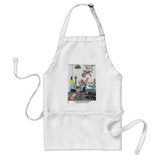 Doctors Monkeying Around Funny Gifts & Tees Standard Apron