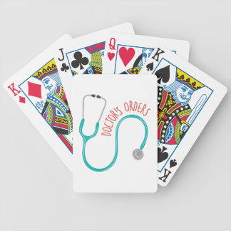 Doctors Orders Bicycle Playing Cards