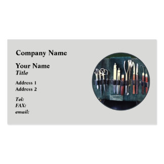 Doctors - Surgical Instruments Ci Double-Sided Standard Business Cards (Pack Of 100)