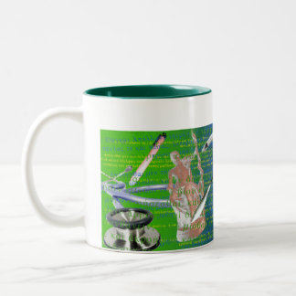 Doctor's Tools Two-Tone Coffee Mug
