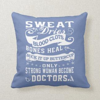 Doctors Woman Cushion