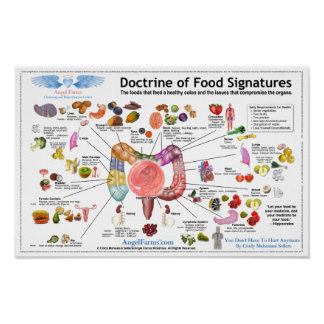 Doctrine of Food Signatures Poster