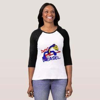 docweaselband blue weasel logo T-Shirt