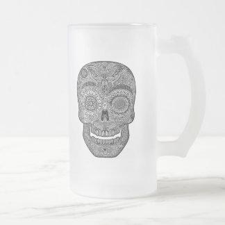 DoD Sk511-bw Frosted Glass Beer Mug
