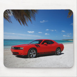 Dodge Challenger Beach Mouse Pad