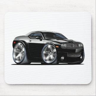 Dodge Challenger Black Car Mouse Pad