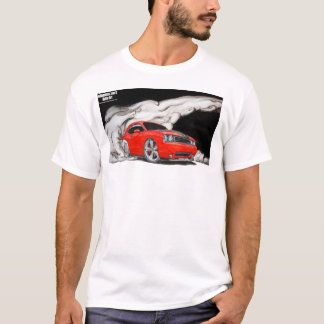 Dodge Challenger burnout shirt