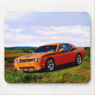 Dodge Challenger Mouse Pad