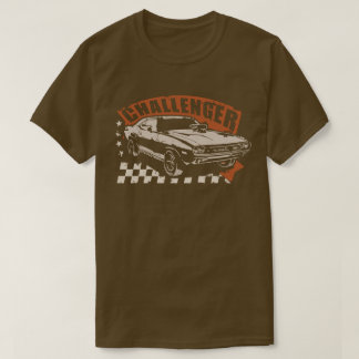 """Dodge Challenger Muscle Car T-shirt """"which Ted"""""""