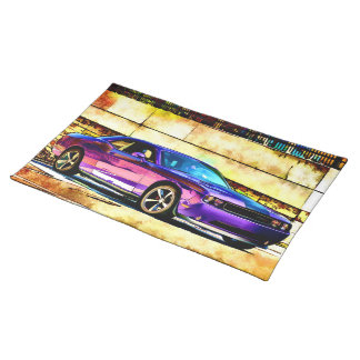 Dodge Challenger Placemat