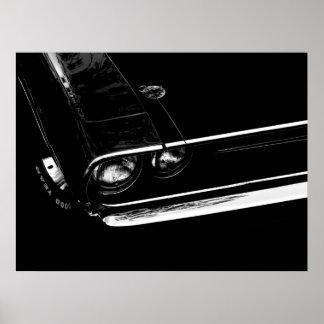 Dodge Challenger Poster