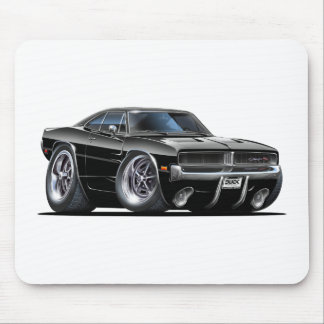 Dodge Charger Black Car Mouse Pad