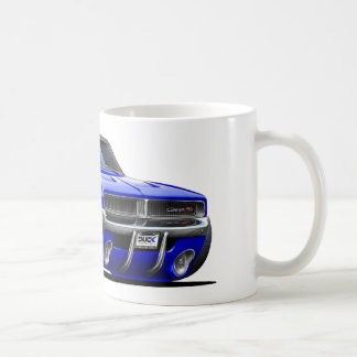 Dodge Charger Blue Car Coffee Mug