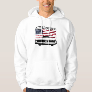 Dodge Charger Hoodie, an image on front and back Hoodie