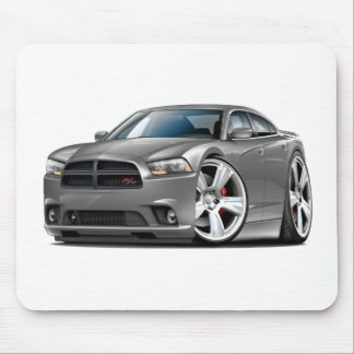 Dodge Charger RT Grey Car Mouse Pad