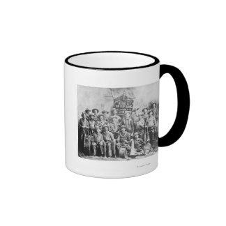 Dodge City Cow-Boy Band with Instruments Coffee Mug