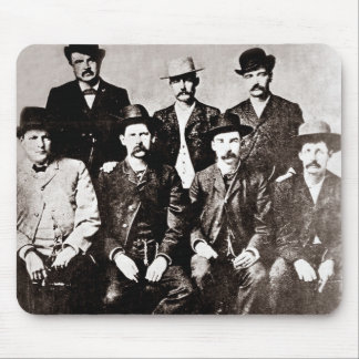 "Dodge City ""Peace Comission"" circa 1883 Mouse Pad"