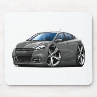 Dodge Dart Steel Grey-Black Grill Car Mouse Pad