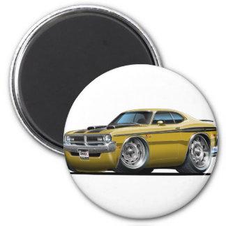 Dodge Demon Gold Car Magnet