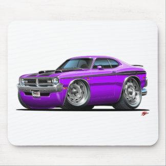 Dodge Demon Purple Car Mouse Pad