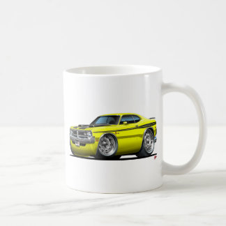 Dodge Demon Yellow Car Coffee Mug