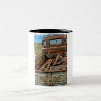 Dodge Two-Tone Coffee Mug