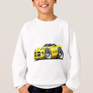 Dodge Viper Roadster Yellow Car Sweatshirt