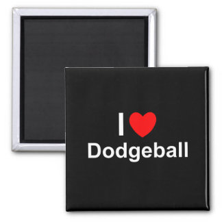 Dodgeball Magnet