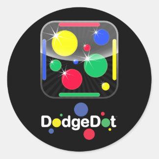 DodgeDot Icon Sticker Sheet