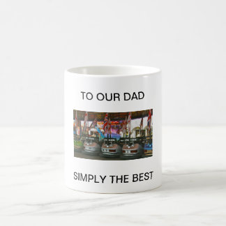 Dodgem Cars TO OUR DAD  SIMPLY THE BEST   Mug Best