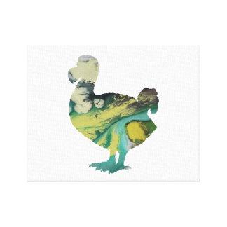 Dodo Art Canvas Print